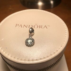 Pandora blue dangle charm
